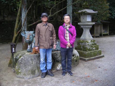 奈良第2回目の祈り合わせ(石上神宮)