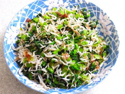 131130-230小松菜のしらすおかか和え(S)