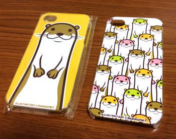 カワウソイラストiPhone5・4・4sケース