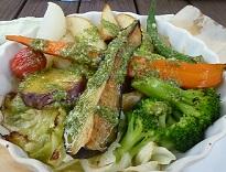 地元野菜焼き