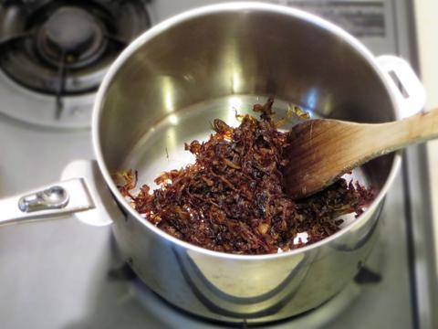 玉ねぎを飴色に炒める