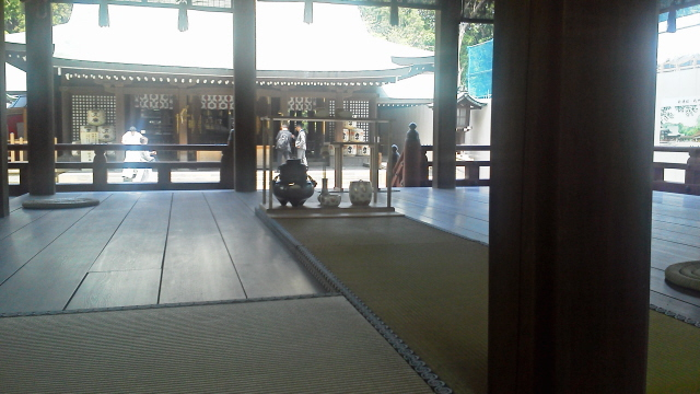 20130503氷川神社献茶式2