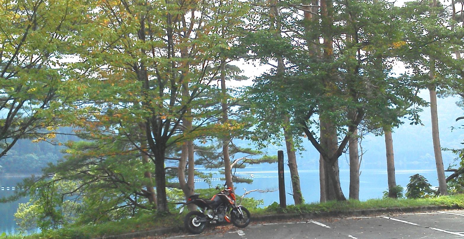 ツーリング130922沼沢湖5