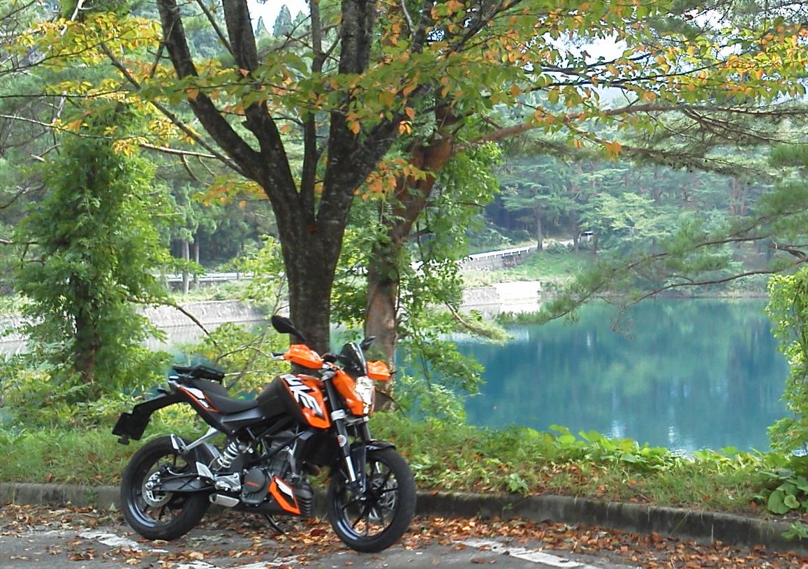 ツーリング130922沼沢湖6