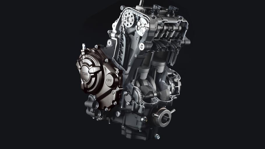 MT-07-EU-Deep-Armor-Detail-エンジン