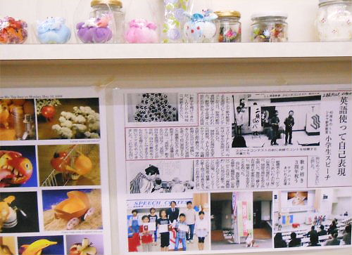 05 500 20141127 新井小2年店内探検03LL記事にびっくり