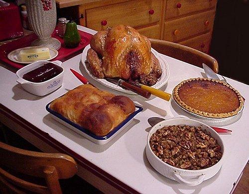 02 Thanksgiving dinner