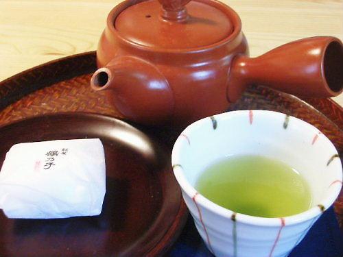 緑茶と茶受け