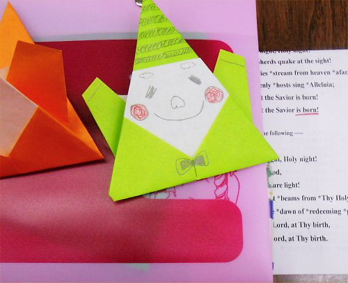 07 500 20141216 A2 Santa origami