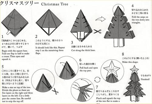 06 origami:Xmas Tree