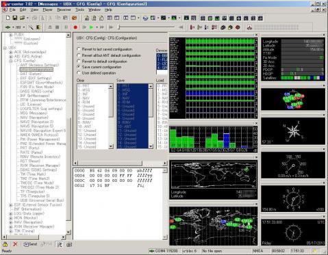 GPS Configuration software