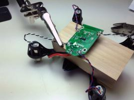 Soldering Motor Cables