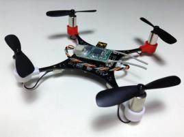 HobbyKing Pocket Quad V1.1 RX Mounted