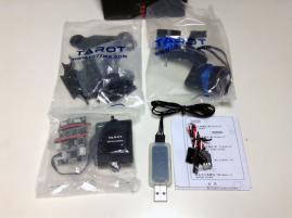 TAROT T-2D 2-Axis Brushless Gimbal for GoPro Contents