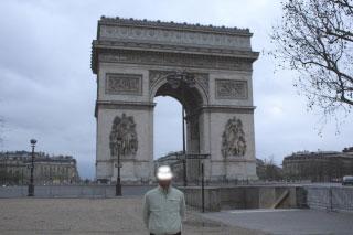 凱旋門パリ