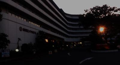 南淡路ロイヤルホテルに夕方