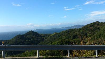 淡路島南端の峠のひとつ