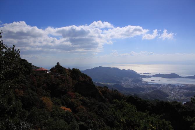 寒霞渓からの景色w2
