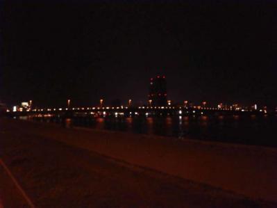 宍道湖の夜