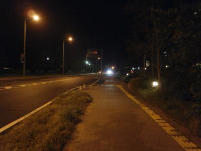 島根の夜は静か