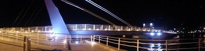 夜景(跳ね橋)