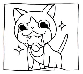 妖怪ウォッチ 1コマ漫画 ジバニャン