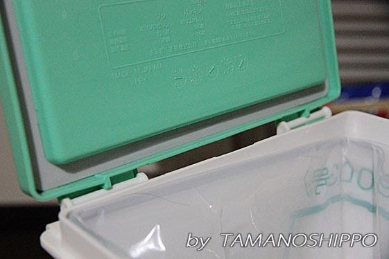 防臭ゴミ箱のパッキン