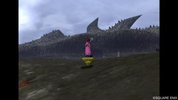 ボロヌス溶岩流へ