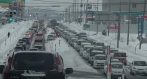 雪 渋滞1