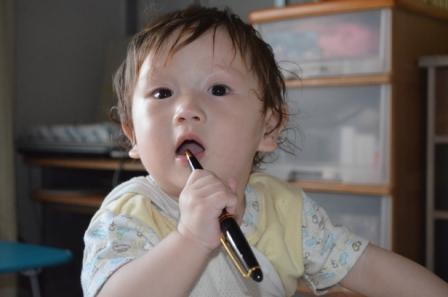 歯磨きボールペン