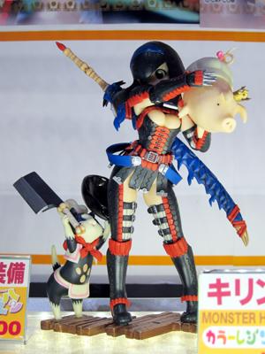 【ワンフェス2013冬】 りゅんりゅん亭 ゲリョス剣士♀フィギュア