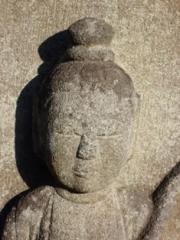 永岳寺の石仏アップ