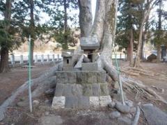 勝手神社の石祠
