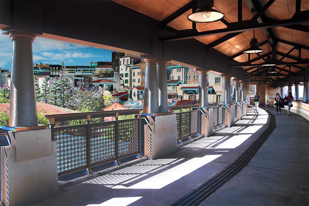 トワライトゾーン(ミラコスタ連絡橋)