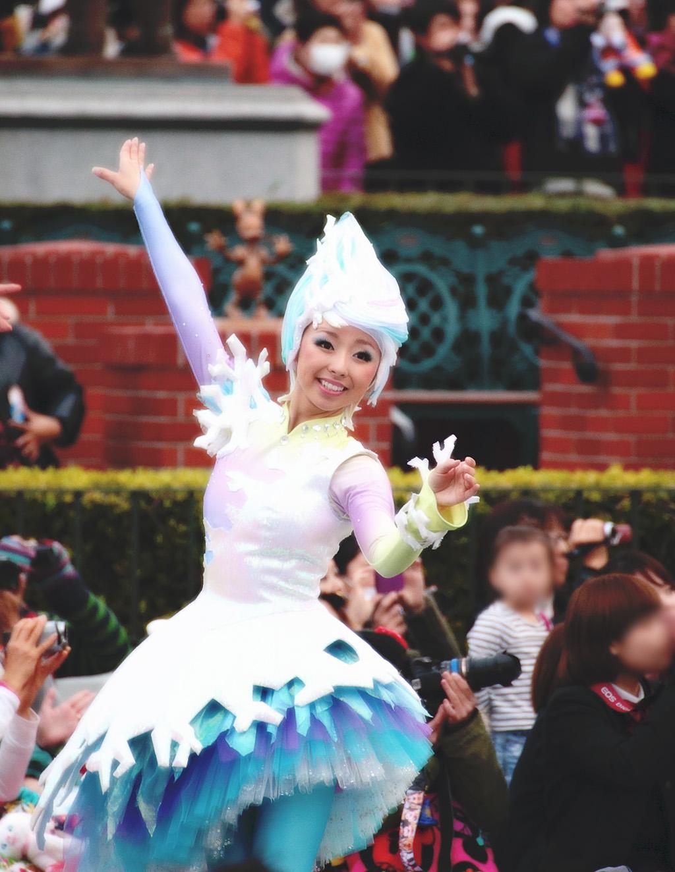 雪の精(ディズニー・サンタヴィレッジ・パレード)