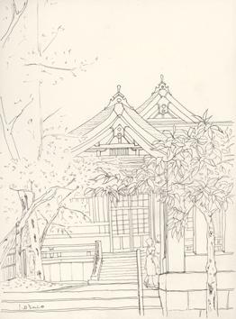富岡八幡宮ペン