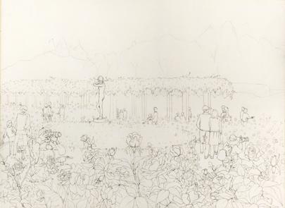 神代植物公園ばらペン