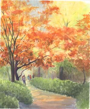 12_03日比谷公園紅葉