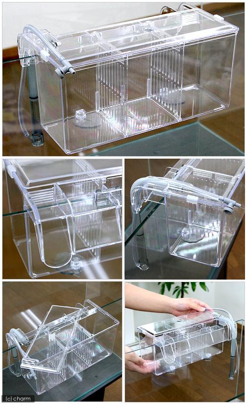 外掛式産卵飼育ボックス サテライトL