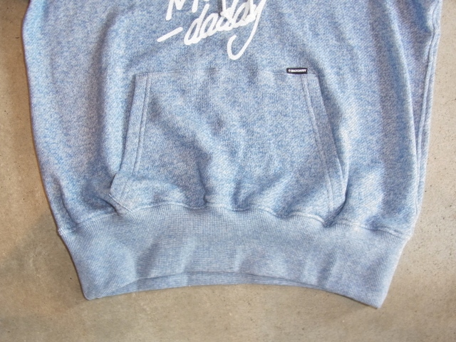 MDY PULLOVER SWEAT HOODIE BLUE FT2