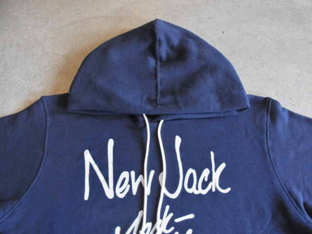 MDY PULLOVER SWEAT HOODIE NAVY FT1
