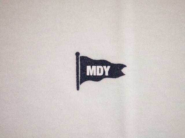 MDY V-NACK TEE WHITE FG