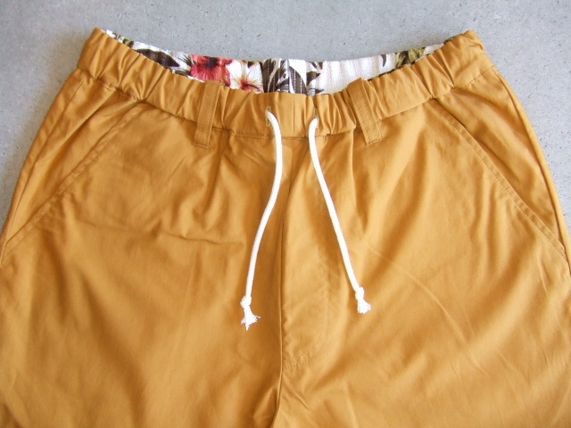rehacer Reversible ALOHA shorts Mustard FT