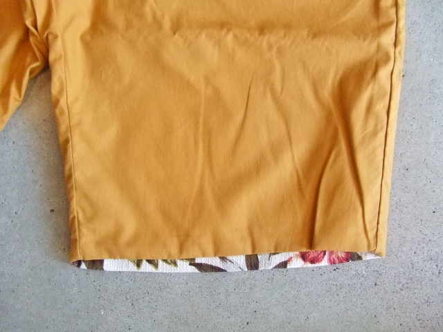 rehacer Reversible ALOHA shorts Mustard FTST1