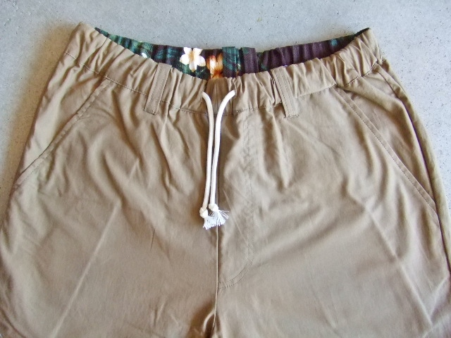 rehacer Reversible ALOHA shorts beige FT1