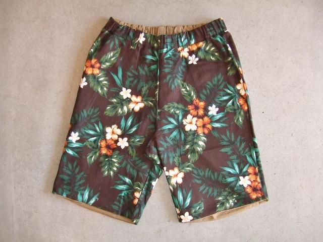rehacer Reversible ALOHA shorts beige RVFT