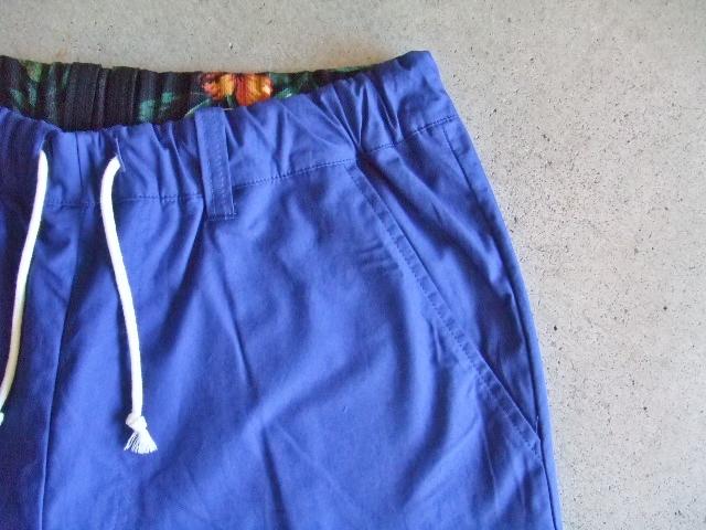 rehacer Reversible ALOHA shorts bule FTPT1