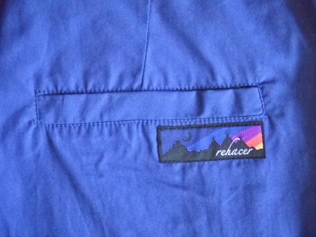 rehacer Reversible ALOHA shorts bule BKPT1