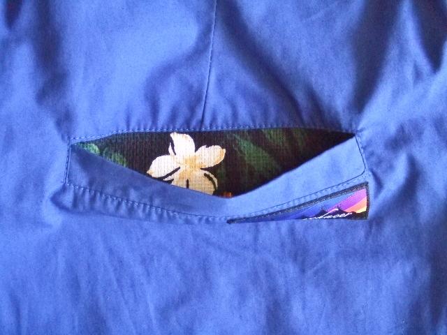 rehacer Reversible ALOHA shorts bule BKPT2