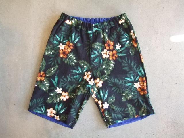 rehacer Reversible ALOHA shorts bule RVFT